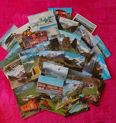 Collection of Canadian postcards