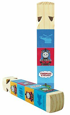 Thomas Train and Friends Wood Wooden Whistle Colorful 8 inch Toy Kids Play New