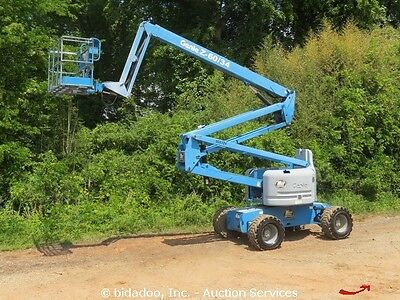 2005 Genie Z60/34 60' 4WD Diesel Articulated Telescopic Boom Lift Man Aerial