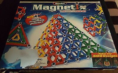 BOXED MAGNETIX ( LIKE GEOMAG) .... Approx.200 pieces ... USED