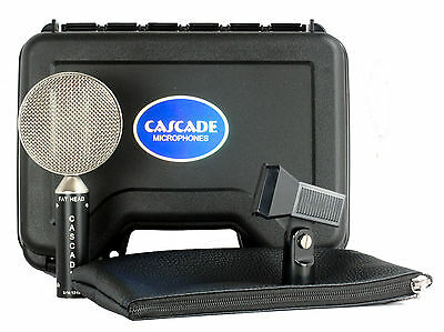 Cascade Fat Head Ribbon Microphone (B Stock - Slight blemish on outer grill)
