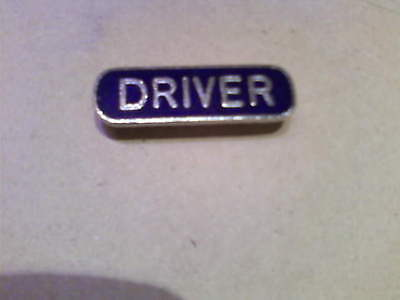 old train driver badge
