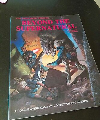 palladium books presents, beyond the supernatural role playing