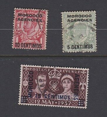 Stamps Morocco Agencies used selection