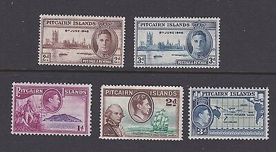 Stamps Pitcairn Islands MH selection Victory set MNH