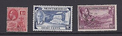 Stamps Montserrat early used