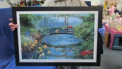 Reflections Of A Friendship Winnie The Pooh Framed Print By Peter Ellenshaw