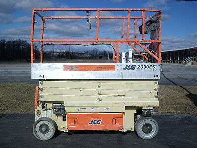 2006 Jlg 2630Es 26' Electric Slab Scissor Lift Manlift 26Ft Platform Lift