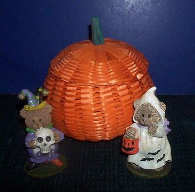 Cute Halloween Figurines - Bears in Costume - Great Halloween Items