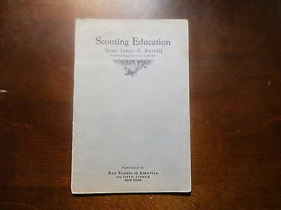 Book - Scouting Education - Dean James E. Russell - 1917