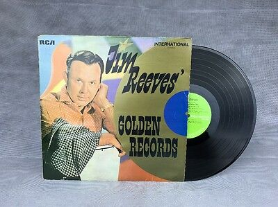 "Jim Reeves  "" Jim Reeves' Golden Records ""  Album / l.p."