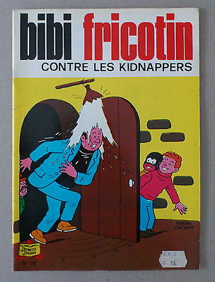 ** BIBI FRICOTIN n°38. CONTRE LES KIDNAPPERS   **  1983 TBE
