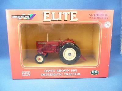 Britains Elite David Brown 990 Implematic 04180 Tractor 1/32 Boxed Excellent