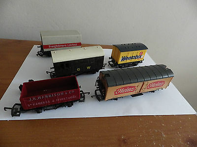 Job lot of 00 Model Railway Wagons Hornby Triang Lima