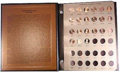 2010 to 2016 P/D/S Lincoln Cent Set in Dansco Album Uncirculated & Gem Proof