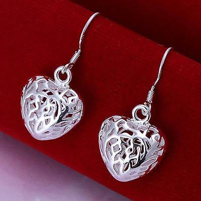 Global Wholesale gorgeous solid 925silver Earring fashion Christmas gift+Giftbox