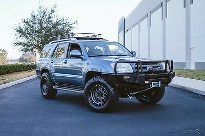2003 Toyota 4Runner BEAUTIFUL Limited V8 4x4 Fresh Expedition Build ! BEAUTIFUL Limited V8 4x4 Fresh Expedition Build OUTSTANDING Condition