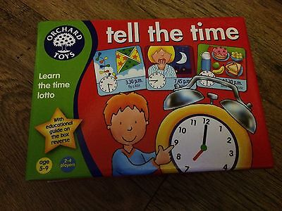 Tell The Time Orchard Toys Game