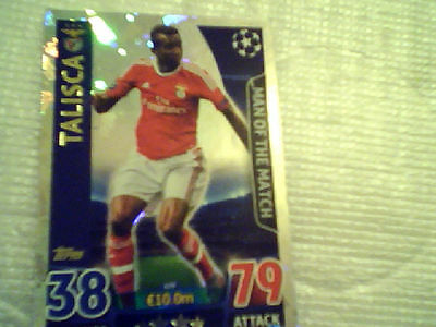 TOPPS Match Attax Champions League 2015/2016 15 16 Man of the Match Talisca.
