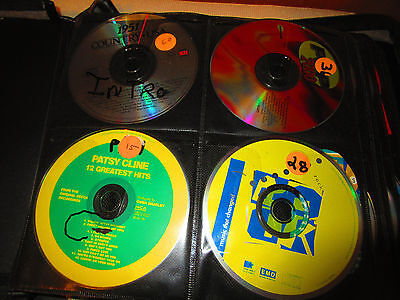 DISC JOCKEY CD'S COLLECTION MISC. MUSIC APPROX. 139 CD's USED
