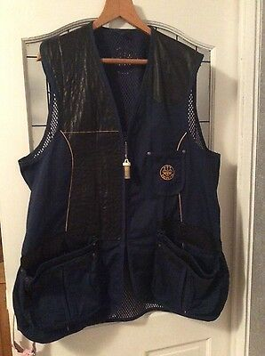 beretta clay shooting vest size 52