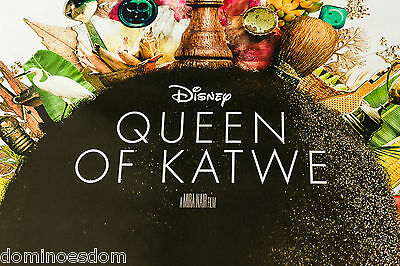 Queen of Katwe – 2016 Original British One Sheet Poster – Double Sided - Mint