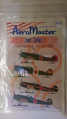 Aeromaster decals in 48 scale Imperial Hayates