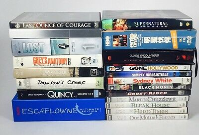 Tv Shows Sets And DVD's Lot of 20 Assorted  lot Good for Resell