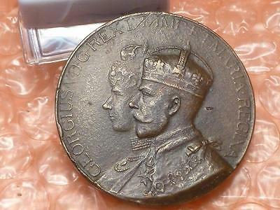 George V & Mary  Visit to Port Sunlight  Medal 1914 Lever Bros. Soap Factory