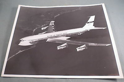 "Vintage,Photo Of Boeing 707 Special Air Missions Aircraft,U. S. Air Force,8""X10"""