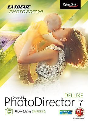 Cyberlink Photo Director 7 Deluxe PC and Mac - Lifetime license