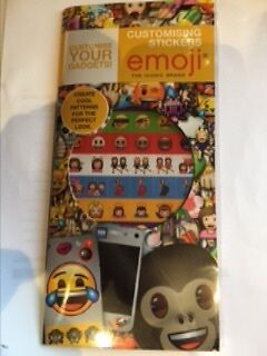 Set of Emoji stickers - Hundreds of cool patterns of the famous brand