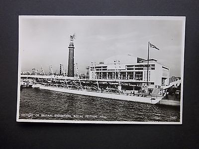 1951 Festival of Britain Exhibition Royal Festival Hall RP Salmon Postcard