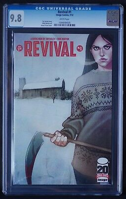 REVIVAL 1 CGC 9.8 GRADED Image Comics 2012 NM 1st Print White Pages