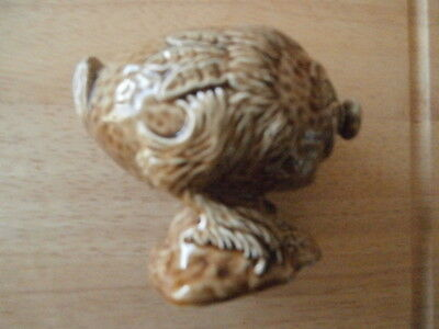 Beswick Beneagles Whisky Flaggon In Shape Of A Haggis 1972 Empty