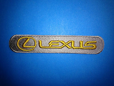 Toyota Lexus Car Auto Club Iron On Hat Jacket Hoodie Seat Cover Patch Crest A