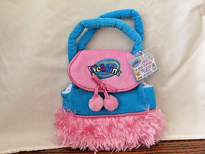 WEBKINZ PET CARRIER ~ TURQUOISE CARRIER ** New with sealed code