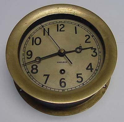 "Chelsea Ship's Clock, 6"" Boston, Ma U.s.a. Circa 1966"