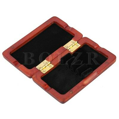 Amber Color Reed Case Storage for 4pcs Oboe Reeds Close Tightly Solid Wood