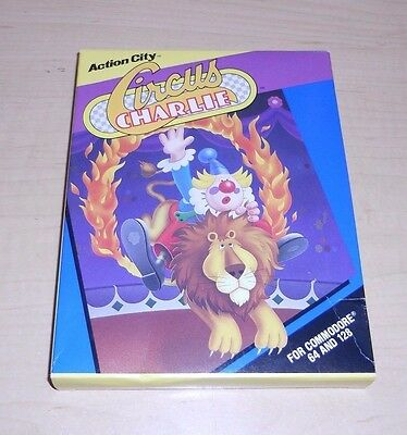 Commodore 64 | Konami / Action City | Circus Charlie