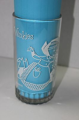 Vintage Wizard of Oz Winkies  Peanut Butter Glass Tumbler Jar Rare