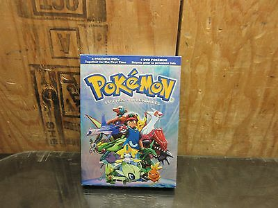 Pokemon Legends (DVD, 2010, 4-Discs Set) NEW - DVD ~