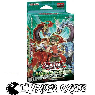 YuGiOh Master Of Pendulum Structure Deck SDMP 1st Edition Card Deck New Sealed