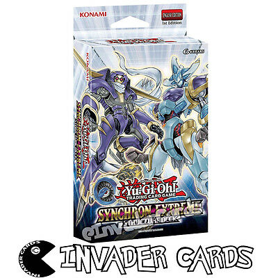 YuGiOh Synchron Extreme Structure Deck SDSE 1st Edition Card Deck New Sealed
