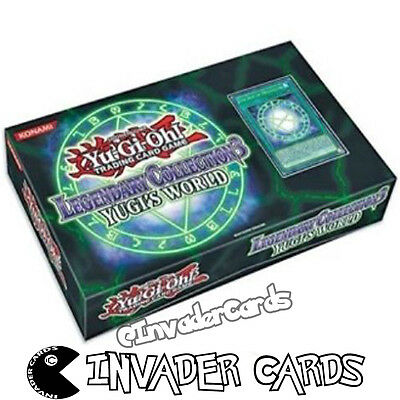 YuGiOh Legendary Collection 3 Yugi's World LCYW Collector Empty Card Storage Box