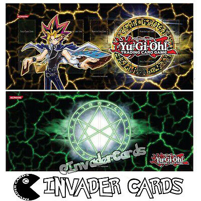 YuGiOh Legendary Collection 3 Yugi's World LCYW Reversible Double Sided Playmat