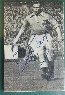 Ernie Taylor - Blackpool & Manchester United Signed Mounted Picture  1950's