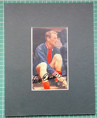 """George Eastham - England 1966 World Cup Squad... Signed Mounted Picture 10"""" X 8"""""""