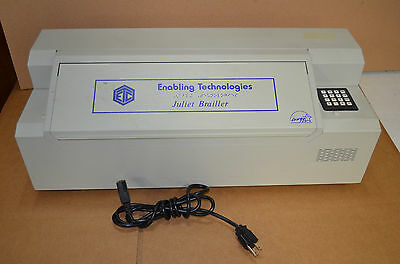 Juliet Brailler Embosser by Enabling Technologies - Braille Printer- With USB
