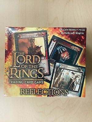 LORD OF THE RINGS trading card game REFLECTIONS BOOSTER BOX  FACTORY SEALED MINT